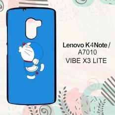 Casing Lenovo K4 Note   A7010   Vibe X3 Lite Custom Hardcase HP Doraemon Simple Blue 2 L0133