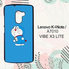 Casing Lenovo K4 Note   A7010   Vibe X3 Lite Custom Hardcase HP Doraemon Simple Blue L0132