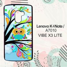 Casing Lenovo K4 Note   A7010   Vibe X3 Lite Custom Hardcase HP Owl Blue Wallpaper L0231