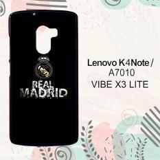 Casing Lenovo K4 Note   A7010   Vibe X3 Lite Custom Hardcase HP Real Madrid Simple L0243