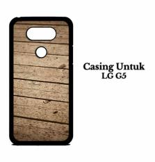 Casing LG G5 Wooden floor Custom Hard Case Cover
