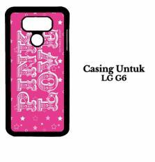 Casing LG G6 victorias secret pink Custom Hard Case Cover