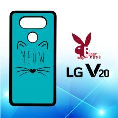 Casing LG V20 Custom Hardcase HP Meow E0148