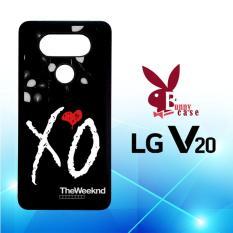 Casing LG V20 Custom Hardcase HP The Weeknd Xo Logo X3686