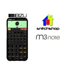 Casing MEIZU M3 NOTE kalkulator fix Custom Case Hardcase Cover