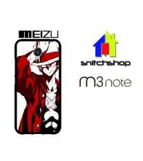Casing MEIZU M3 NOTE luffy 3 fix Custom Case Hardcase Cover