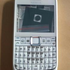 Casing Nokia E63 Fullset + Tulang Tengah / Tulangan / Rangka + Tombol / Keypad + Depan + Belakang / Tutup Baterai / Batre / Housing E 63 Full Set / Kesing /Kasing Cover Case Chasing Chassing Cassing