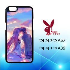 Casing OPPO A57 & OPPO A39 Custom Hardcase HP Anime Asuna Yuuki Kirito Sinon SAO O0912