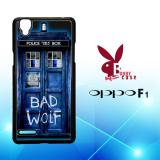 Spesifikasi Casing Oppo F1 Custom Hardcase Hp Doctor Who Tardis Bad Wolf Blue L1233 Cases Terbaru