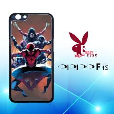 Casing OPPO F1s Custom Hardcase HP Amazing Spiderman And Friend L1337