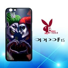 Casing OPPO F1s Custom Hardcase HP Harley Quinn And Joker L1420