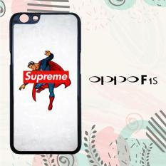 Casing OPPO F1S Custom Hardcase HP Supreme Trend Superman Hero Logo L2006