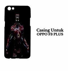 Casing OPPO F3 PLUS Iron Man Jarvis Hardcase Custom Case Cover