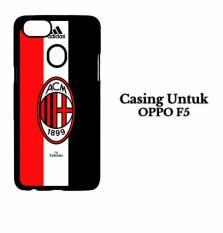 Promo Toko Casing Oppo F5 Ac Milan Logo Custom 1 Custom Hard Case Cover