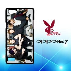 Casing OPPO Neo 7 Custom Hardcase HP 5 Seconds Of Summer 5SOS Photoshoot L1561