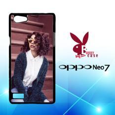 Casing OPPO Neo 7 Custom Hardcase HP Alessia Cara Singer L1192