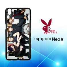 Casing OPPO Neo 9 (A37) Custom Hardcase HP 5 Seconds Of Summer 5SOS Photoshoot L1561
