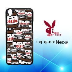 Casing OPPO Neo 9 (A37) Custom Hardcase HP Nutella Pattern L1328