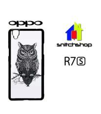 Harga Casing Oppo R7S Owl Custom Case Hardcase Cover Yang Bagus