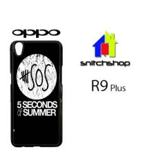 Casing Oppo R9 Plus 5 Second Of Summer Log Custom Case Hardcase