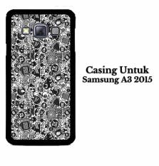 Casing SAMSUNG A3 2015 art pop art concept Hardcase Custom Case Cover