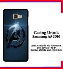 Spesifikasi Casing Samsung A5 2016 Movie The Avengers Logo Custom Hardcase Cover Beserta Harganya