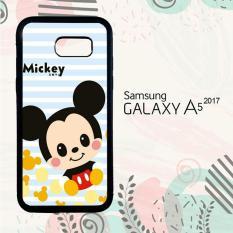Casing Samsung A5 2017 Custom Hardcase HP Mickey Simple Wallpaper L0402
