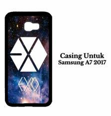 Jual Casing Samsung A7 2017 Exo Logo Nebula Hardcase Custom Case Cover Original