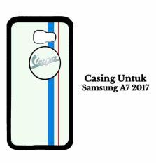 Casing SAMSUNG A7 2017 vespa logo Hardcase Custom Case Cover