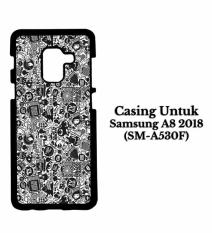 Casing SAMSUNG A8 2018 art pop art concept Hardcase Custom Cover