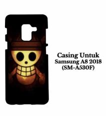 Casing SAMSUNG A8 2018 One Piece smile Hardcase Custom Cover