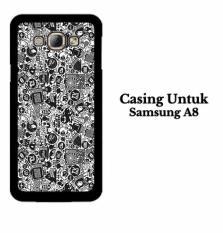 Casing SAMSUNG A8 art pop art concept Hardcase Custom Case Cover