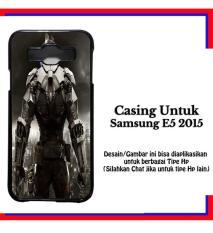 Casing Samsung E5 2015 batman arkham premium Custom Hardcase Cover