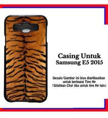 Casing Samsung E5 2015 pattern tiger 1 Custom Hardcase Cover