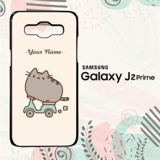 Toko Casing Samsung Galaxxy J2 Prime Custom Hardcase Hp Pusheen Cat Name L0238 Online