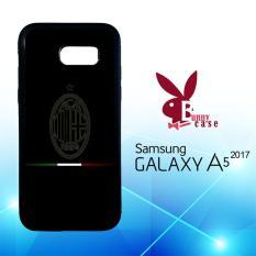 Casing Samsung Galaxy A5 2017 Custom Hardcase HP Ac Milan Logo Dark O1023