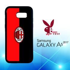 Casing Samsung Galaxy A5 2017 Custom Hardcase HP Logo Ac Milan O1024