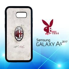 Casing Samsung Galaxy A5 2017 Custom Hardcase HP Name Ac Milan O1022