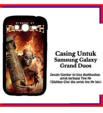 Casing Samsung Galaxy Grand Duos Megadeth 2 Custom Hardcase Cover