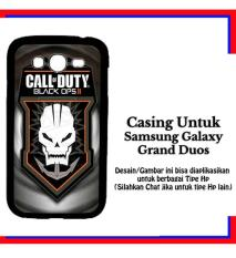 Casing Samsung Galaxy Grand Duos official black ops 2 logo Custom Hardcase Cover