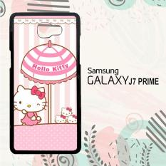 Jual Casing Samsung Galaxy J7 Prime Custom Hardcase Hp Hello Kitty Pink Pattern L1943 Import