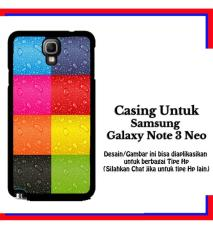 Casing Samsung Galaxy Note 3 Neo colorfull iphone Custom Hardcase Cover