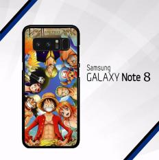 Ulasan Mengenai Casing Samsung Galaxy Note 8 Custom Hardcase One Piece Crew Case Cover