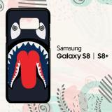 Harga Casing Samsung Galaxy S8 S8 Plus Custom Hardcase Hp Bape Shark Dizzy L1975 Asli