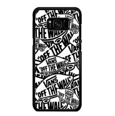 Casing Samsung Galaxy S8 Plus Motif Logo Vans Off The Wall Shoes college A1331