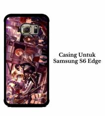 Casing SAMSUNG S6 EDGE Sword Art Online Hardcase Custom Cover