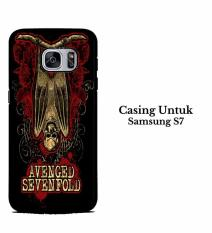 Casing SAMSUNG S7 Avenged Sevenfold A7X Hardcase Custom Cover