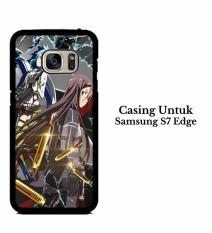 Casing SAMSUNG S7 EDGE Sword Art Online Season 2 Hardcase Custom Cover