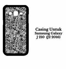 Casing SAMSUNG SM J210 J2 2016 art pop art concept Custom Hard Case Cover