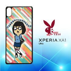 Casing Sony Xperia XA1 Ultra Custom Hardcase HP Tina Belcher E0336